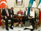 Cumhurbaşkanı Erdoğan, Kuveyt Emiri Cabir es-Sabah ile bir araya geldi
