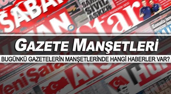 Gazete manşetleri (24 Temmuz 2017)