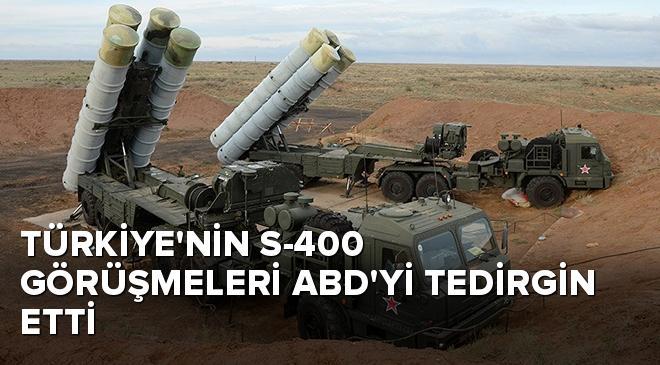 Türkiyenin S-400 görüşmeleri ABDyi tedirgin etti