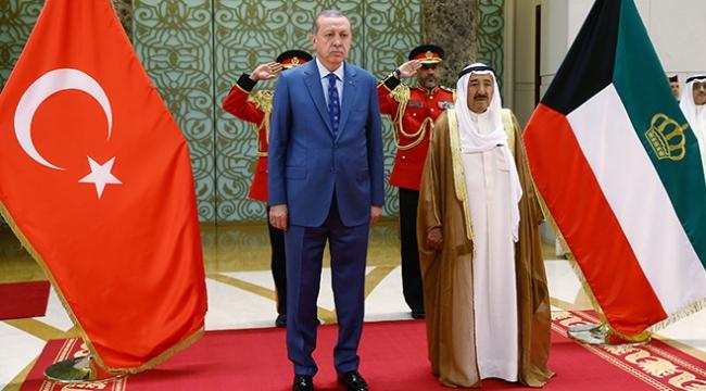 Kuveyt medyasından Erdoğanın ziyaretine yoğun ilgi