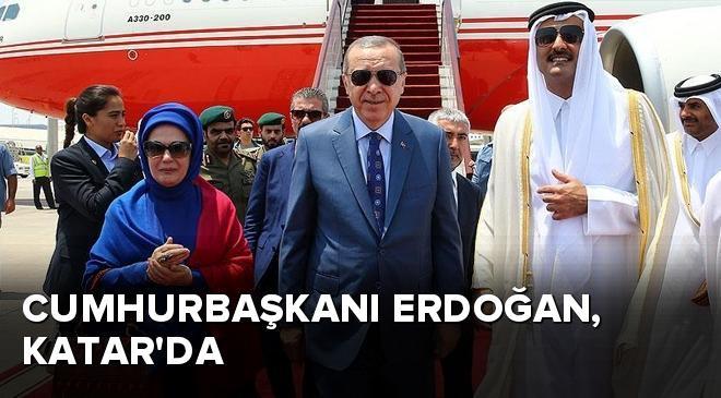 Cumhurbaşkanı Erdoğan, Katarda