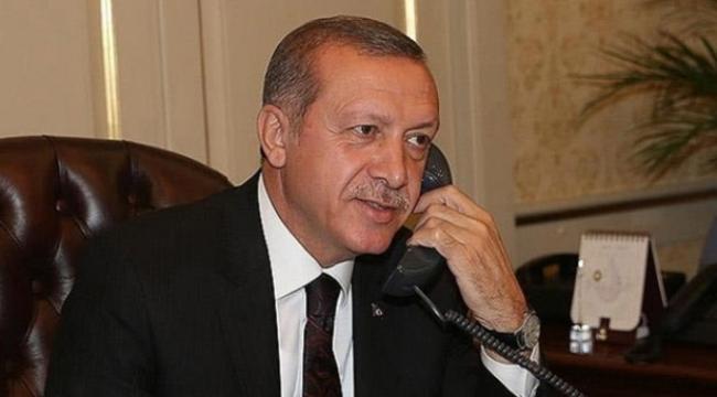 Cumhurbaşkanı Erdoğan Ürdün Kralı 2. Abdullah ile telefonda görüştü