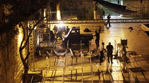 İsrail arama dedektörlerini kaldırdı