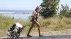 67 yaşında Almanyadan Çine yürüyor