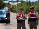 Yasa dışı geçişlere 'drone'lu önlem
