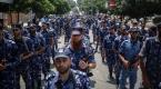 Gazzeden Aksaya destek için askeri geçit töreni