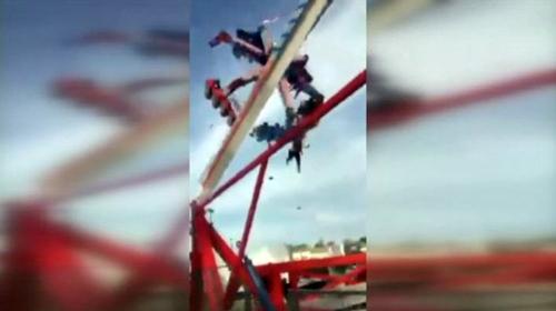 ABDde lunaparkta feci kaza: 1 ölü, 7 yaralı