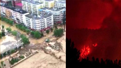 Dünya felaketlerle boğuşuyor