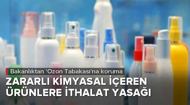 Çevre ve Şehircilik Bakanlığından Ozon Tabakasına koruma