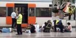 İspanya'da tren kazası: 54 yaralı