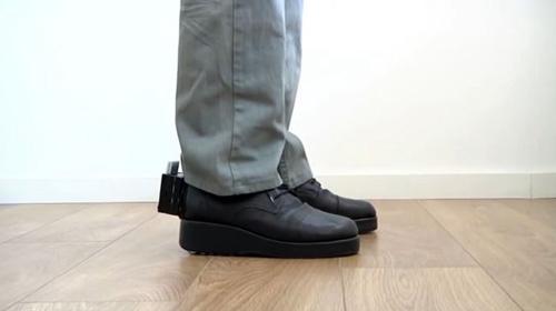 Düşmeyi önleyen ayakkabı geliştirildi