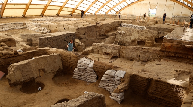 Çatalhöyük 4 bin yıl savaş görmemiş