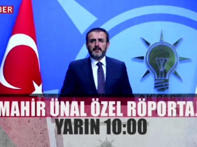 AK Parti Sözcüsü Mahir Ünal TRT Haberde