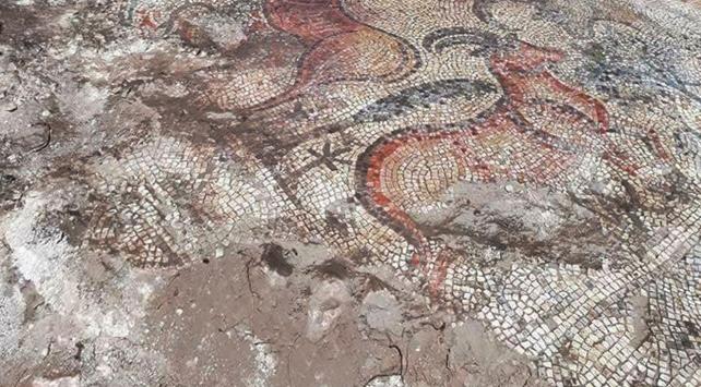 1600 yıllık mozaik müzeye taşınıyor