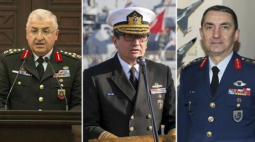 İşte yeni kuvvet komutanları