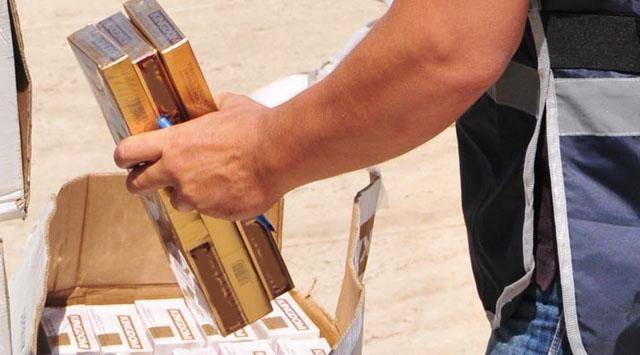 271 bin paket kaçak sigara ele geçirildi