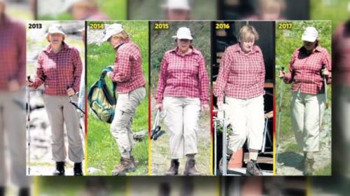 Merkel 5 yıldır aynı kıyafeti giyiyor