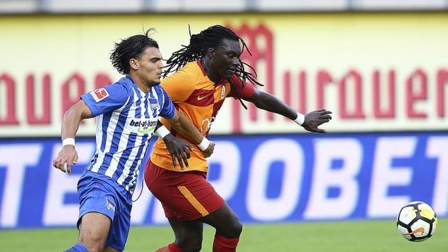 Galatasaray hazırlık maçında Hertha Berline yenildi