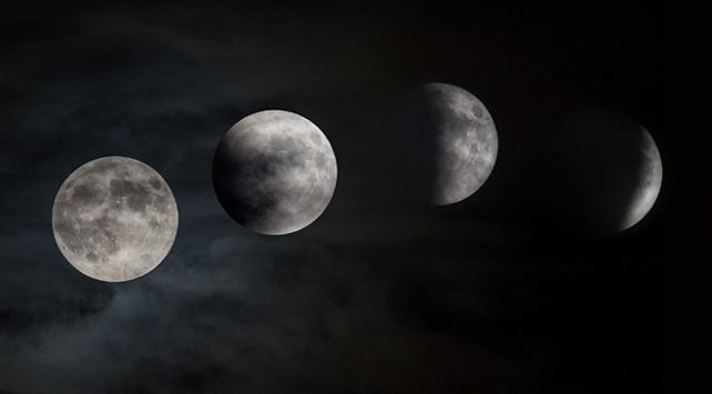 Parçalı ay tutulması bugün saat kaçta?