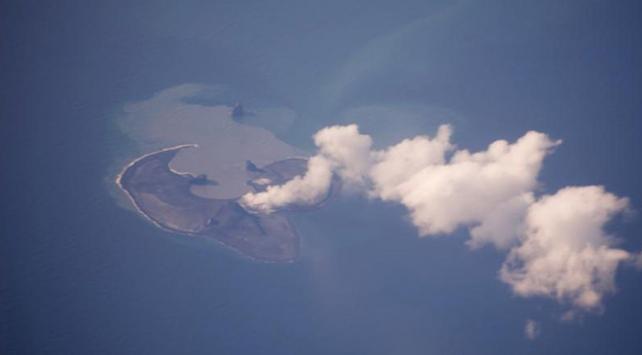 Alaskada Bogoslof Yanardağında patlama