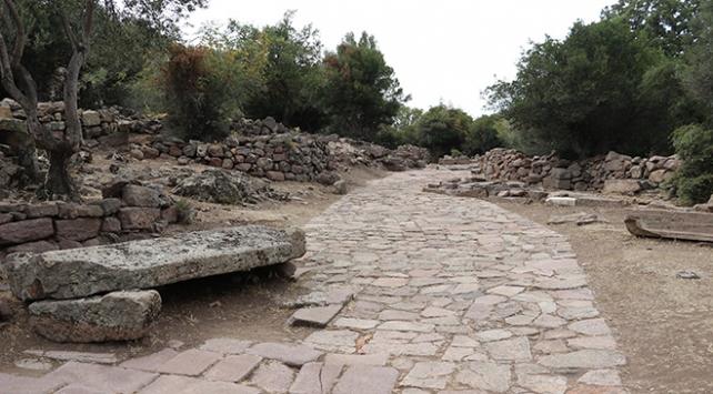 Manisada 2 bin yıllık antik yol bulundu