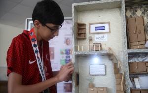 Robot Şampiyonasında dünya birincisi öğrenciler yurda döndü