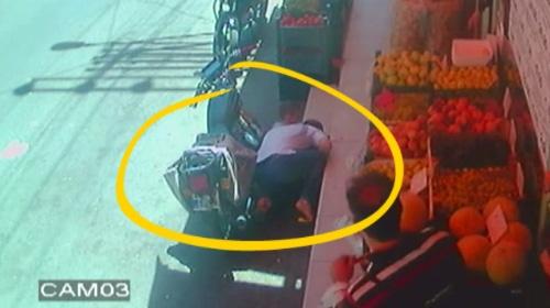 Gaziantepteki maganda kurşunu güvenlik kamerasında