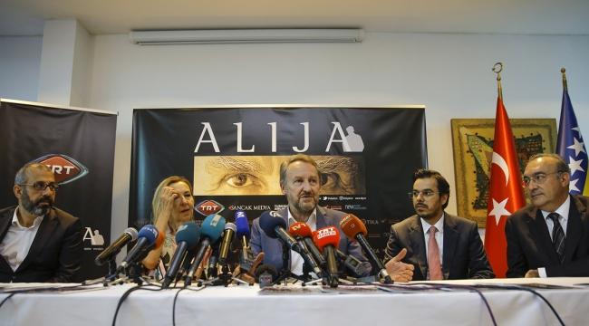 TRTde yayınlanacak Alija dizisi Saraybosnada tanıtıldı