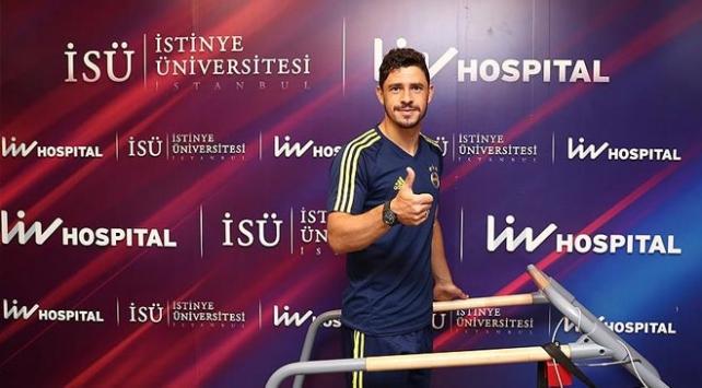 Fenerbahçede Giuliano sağlık kontrolünden geçirildi