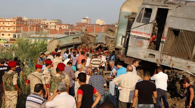 Mısırdaki tren kazasında ölü sayısı 41e yükseldi