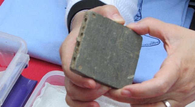 Gaziantepteki kazılarda makyaj kutusu bulundu