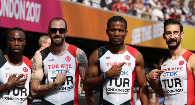 Türkiye erkek milli takımı 4x100 finalinde yedinci oldu