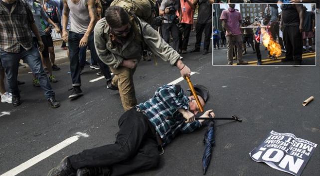 ABDde ırkçıların gösterisi sonrası olağanüstü hal ilan edildi