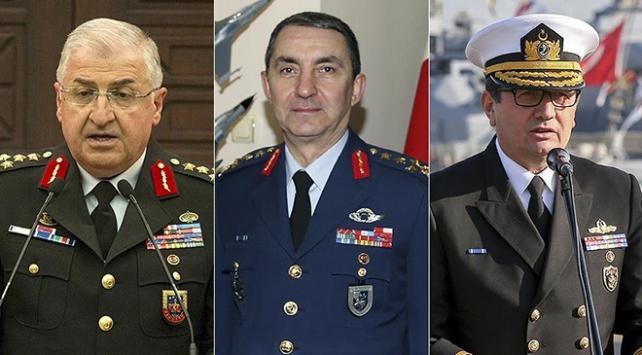 Kara, Deniz ve Hava Kuvvetleri Komutanlıklarında devir teslim haftaya