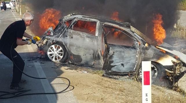 Çorumda trafik kazası: 1 ölü, 2 yaralı