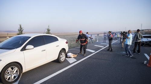 Başkentte kaza üstüne kaza
