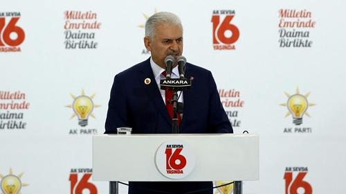 Başbakan Yıldırım: Eren Bülbüle kurşun sıkan şerefsizler bilsin ki biz 80 milyonuz
