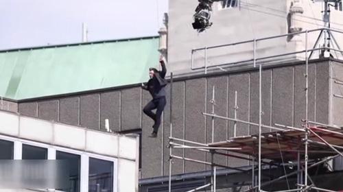 Tom Cruise film setinde kaza geçirdi