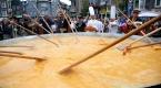Belçikada dev omlet