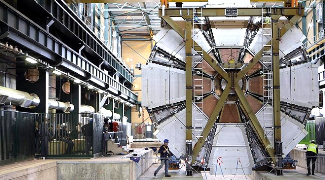 CERNde yeni bir keşif