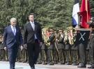 Estonya Başbakanı Ratas Ankara'da resmi törenle karşılandı