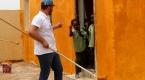 TİKAnın gönüllü elçileri Sudanda okul onarım çalışmalarına katıldı