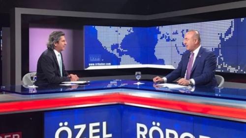 Dışişleri Bakanı Çavuşoğlu, TRT Haberin özel yayın konuğu oldu