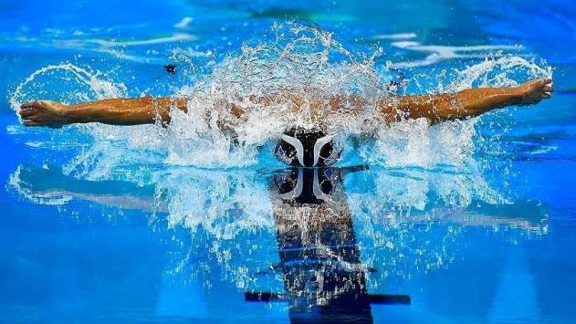 Milli yüzücü Nakkaştan rekorlu dünya şampiyonluğu