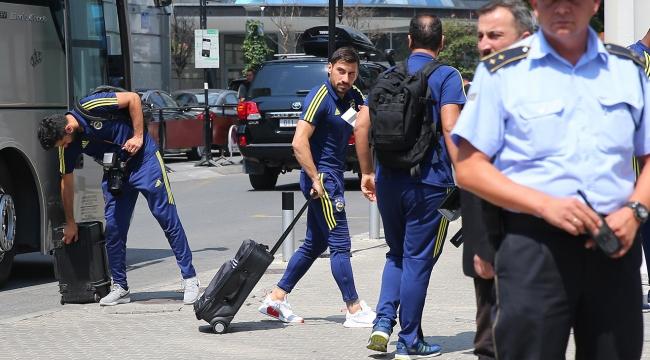 Fenerbahçe kafilesi Makedonyada
