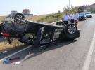 Edirne'de trafik kazası 2 yaralı