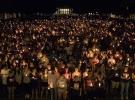 ABD'de birlerce kişi şiddet olaylarını protesto etti