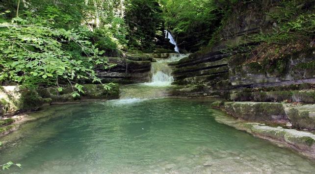 Tatlıca Şelaleleri Tabiat Parkının alanı genişletildi