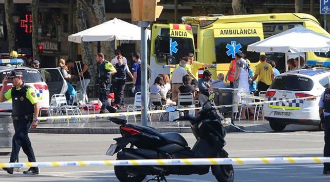 Barcelona saldırısının zanlıları öldürüldü
