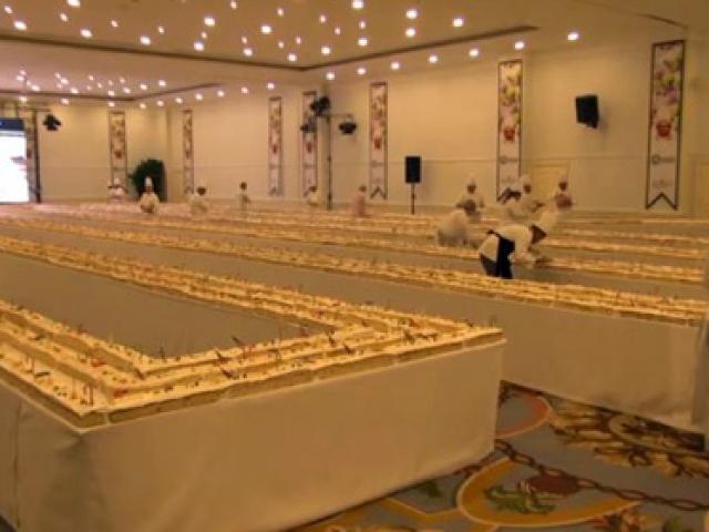 İşte dünyanın en uzun keki